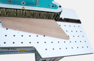 ROBA Duplex for edge processing of wooden steps