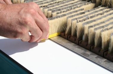 Easy to replace sanding segments