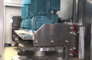 The Profi Disc as optional aggregate at machine exit